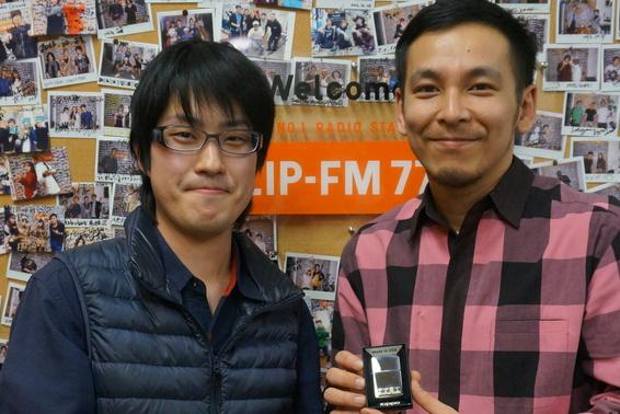 【ZIP-FM】に出演しました。